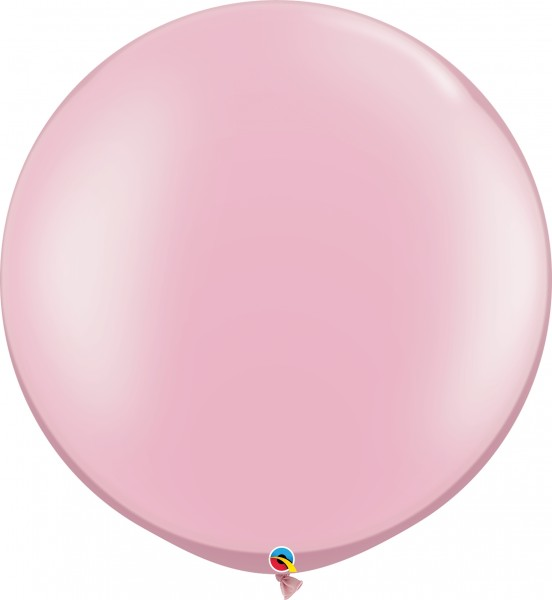"Qualatex Latexballon Pastel Pearl Pink 75cm/30"" 2 Stück"
