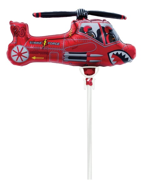 Northstar Folienballon Red Chopper 14""