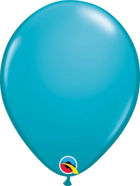 """Qualatex Latexballon Fashion Tropical Teal 28cm/11"""" 100 Stück"""
