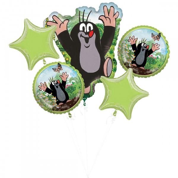 """Anagram Folienballon Bouquet """"Der kleine Maulwurf"""""""