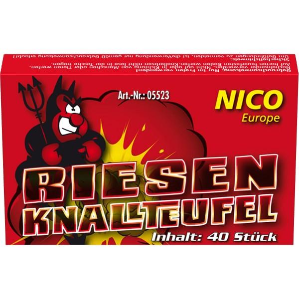 Nico Riesen Knallteufel, 40er-Schachtel