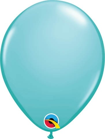 "Qualatex Latexballon Fashion Caribbean Blue 13cm/5"" 100 Stück"