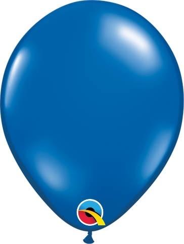 "Qualatex Latexballon Jewel Sapphire Blue 13cm/5"" 100 Stück"