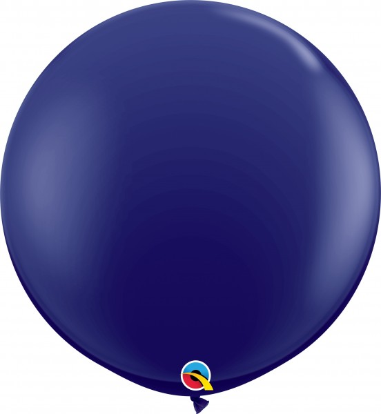 Qualatex Latexballon Fashion Navy 90cm/3' 2 Stück