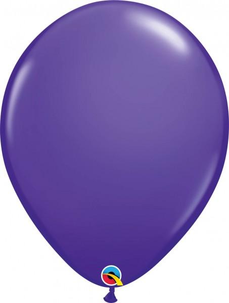 "Qualatex Latexballon Fashion Purple Violet 40cm/16"" 50 Stück"