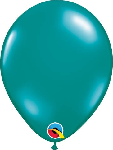 "Qualatex Latexballon Jewel Teal 13cm/5"" 100 Stück"