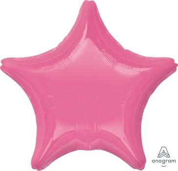 "Anagram Folienballon Stern Rosa (Rosè) 20"""