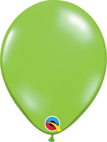 "Qualatex Latexballon Jewel Lime 13cm/5"" 100 Stück"