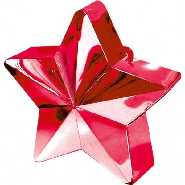 Ballongewicht Stern Rot 150g/5,3oz