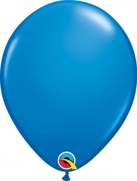 """Qualatex Latexballon Dark Blue 28cm/11"""" 6 Stück"""