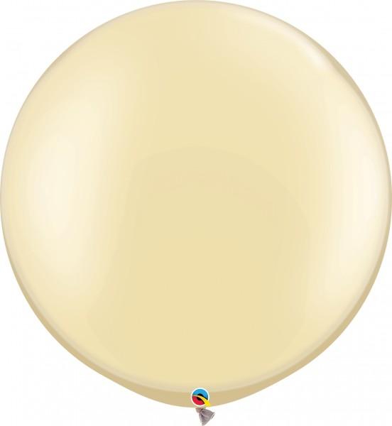 "Qualatex Latexballon Pastel Pearl Ivory 75cm/30"" 2 Stück"