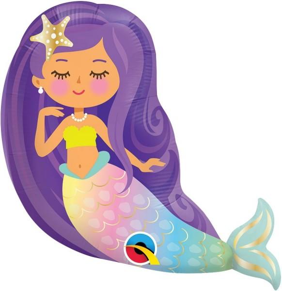 "Qualatex Folienballon Mini Mermaid 36cm/14"""