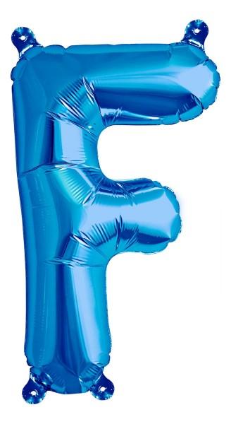 "Northstar Folienballon Buchstabe F Blue 40cm/16"""