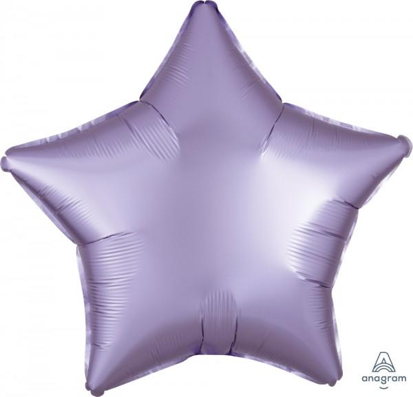 "Anagram Folienballon Stern Satin Luxe Pastel Lilac 50cm/20"""