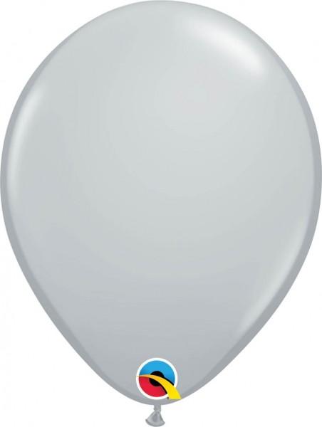 """Qualatex Latexballon Fashion Grey 11"""" / 28cm (100 Stück)"""