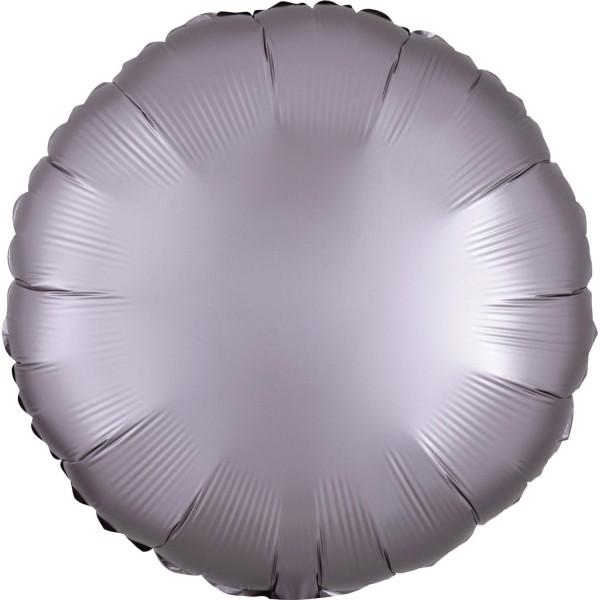 """Anagram Folienballon Rund Satin Luxe Greige 45cm/18"""""""