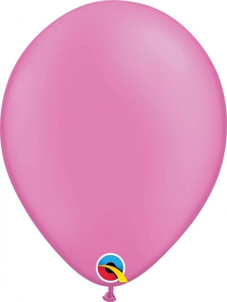 "Qualatex Latexballon Neon Magenta 28cm/11"" 100 Stück"