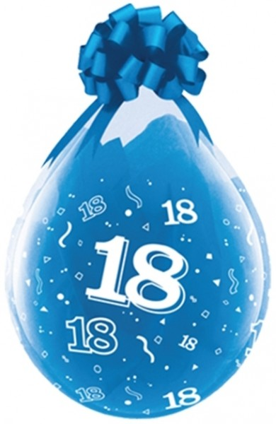 "Qualatex Verpackungsballon 18 Diamond Clear 45cm/18"" 25 Stück"