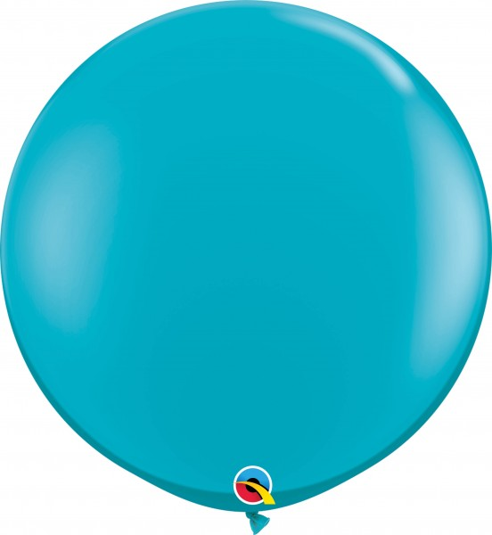 Qualatex Latexballon Fashion Tropical Teal 90cm/3' 2 Stück