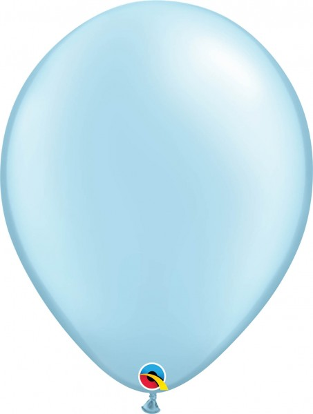 "Qualatex Latexballon Pastel Pearl Light Blue 40cm/16"" 50 Stück"