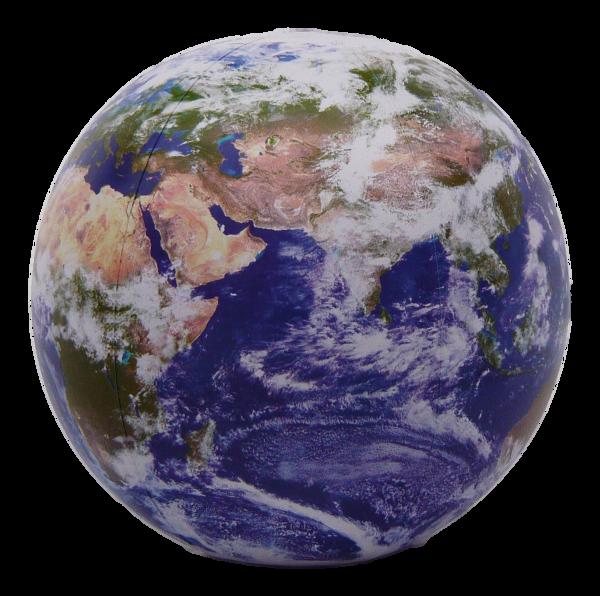 Jet Creation Aufblasbare Erdkugel des Astronauten 90cm