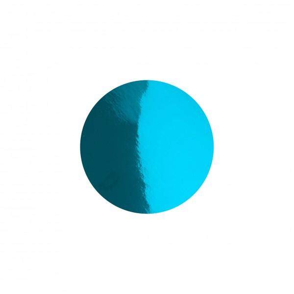 Goodtimes Folienkonfetti 1cm Rund 100g Hellblau