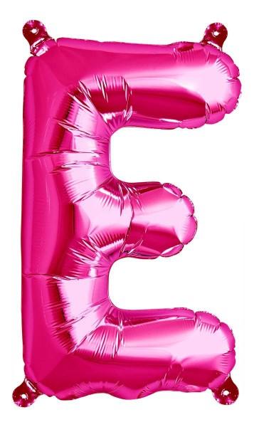 "Northstar Folienballon Buchstabe E Magenta 40cm/16"""