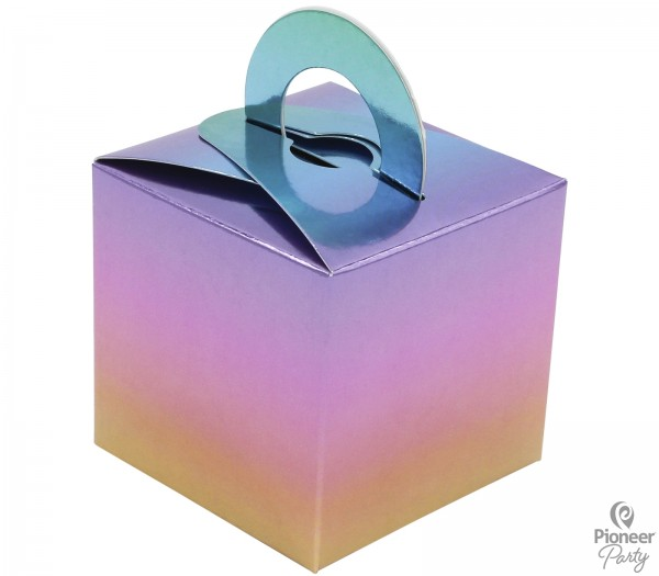 Pioneer Geschenkbox Ballongewicht Regenbogen Ombre, 8 Stück