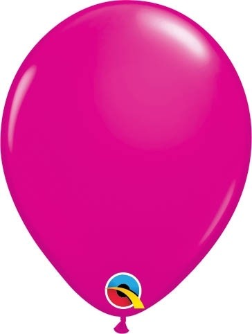 "Qualatex Latexballon Fashion Maroon 13cm/5"" 100 Stück"