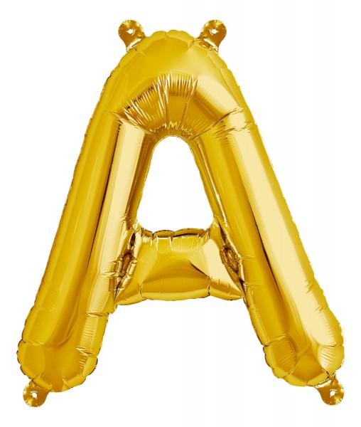 "Northstar Folienballon Buchstabe Gold 16"""