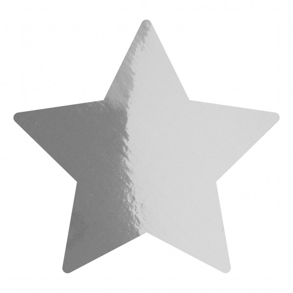 Goodtimes Folienkonfetti 1,7cm Stern 100g Silber