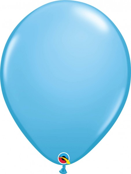 "Qualatex Latexballon Standard Pale Blue 40cm/16"" 50 Stück"