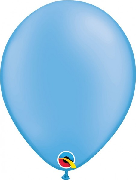 "Qualatex Latexballon Neon Blue 28cm/11"" 100 Stück"