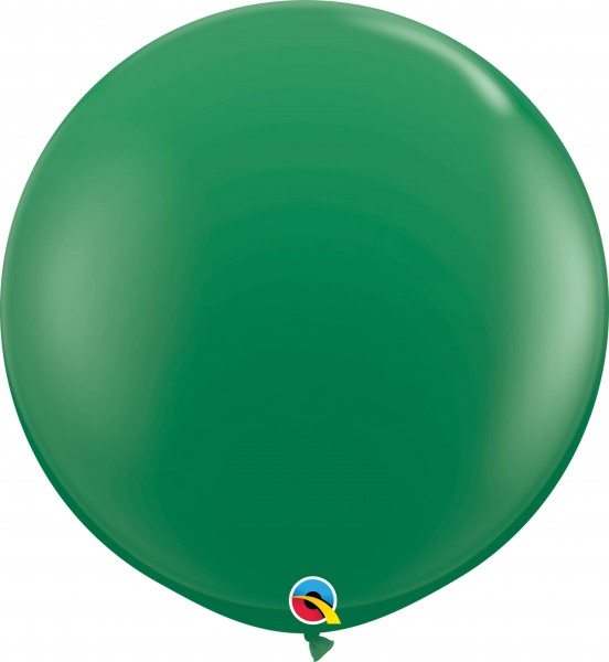 Qualatex Latexballon Standard Green 90cm/3' 2 Stück