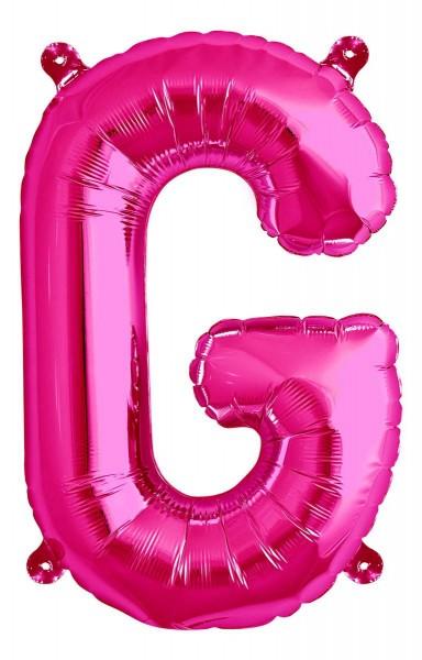 """Northstar Folienballon Buchstabe G Magenta 40cm/16"""""""