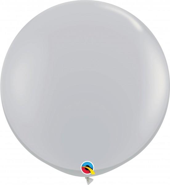 Qualatex Latexballon Fashion Gray 90cm/3' 2 Stück