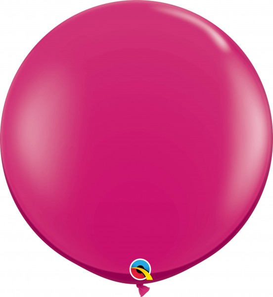 Qualatex Latexballon Jewel Magenta 90cm/3' 2 Stück