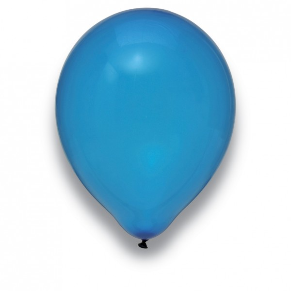 Globos Luftballons 100er Packung 30cm Durchmesser Dunkelblau Naturlatex