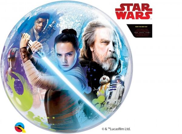 """Qualatex Bubbles Star Wars: The Last Jedi 56cm/22"""""""