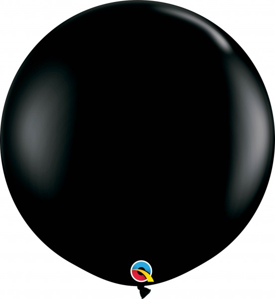 Qualatex Latexballon Fashion Onyx Black 90cm/3' 2 Stück