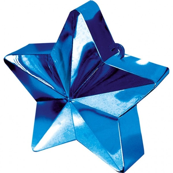 Ballongewicht Stern Blau 150g/5,3oz